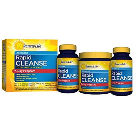 Rapid Clear Detox by Renew Rapid Cleanse Total Cleanse