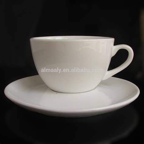Cup With Plate ceramic coffee cup white porcelain coffee cup saucer