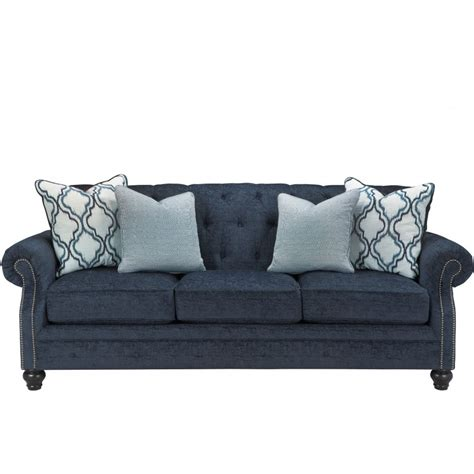 sofa ashley ashley furniture lavernia sofa in navy local furniture