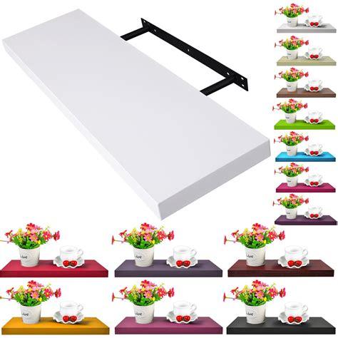 floating wall mount shelf shelves lounge display 100 80 60