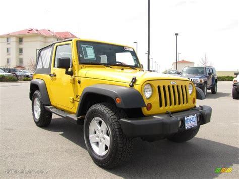 yellow jeep interior 2008 detonator yellow jeep wrangler x 4x4 28937059 photo