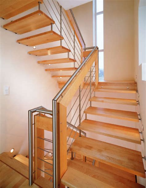 Timber Stairs Design Wood Staircase Designs Interior Design Ideas