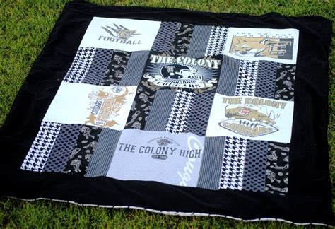 Blanket Out Of T Shirts by Guest Post Tutorial At Sew Sew Stadium Blanket