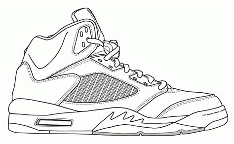 coloring pages shoes shoe coloring page coloring home