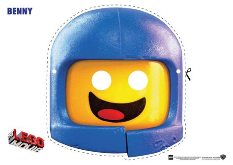 lego mask printable template how to make a benny lego mask and costume ken krogue