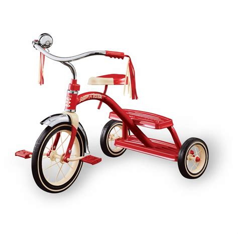 classic red radio flyer classic red tricycle 12 loopfietskar nl