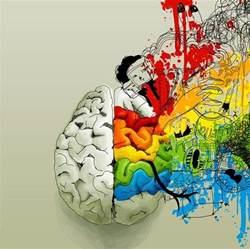 what color are brains brain brains brainstorm collage color image