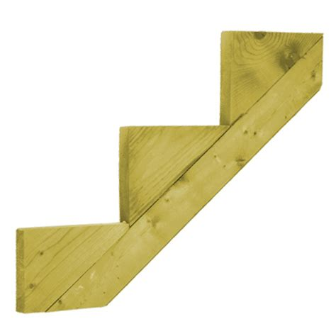 proguard treated wood 3 step stringer the home depot canada