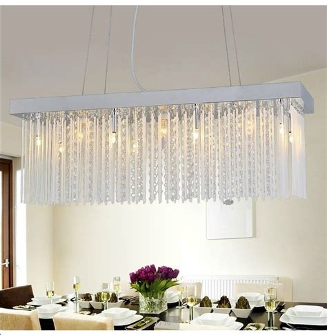 Rectangular Dining Chandelier Popular Glass Rectangular Dining Table Buy Cheap Glass Rectangular Dining Table Lots From China