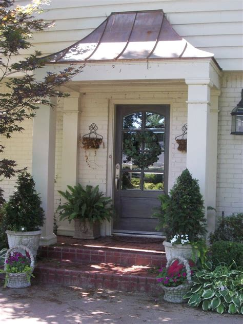 Copper Porch Awning by 78 Best Ideas About Porch Awning On Porch