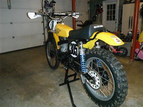 Suzuki Tm 75 1975 Suzuki Tm 400 Vintage Motocross Mx Tm400