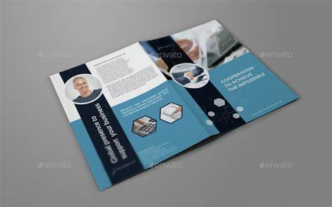 company profile brochure design templates company profile brochure bi fold template vol 42 by