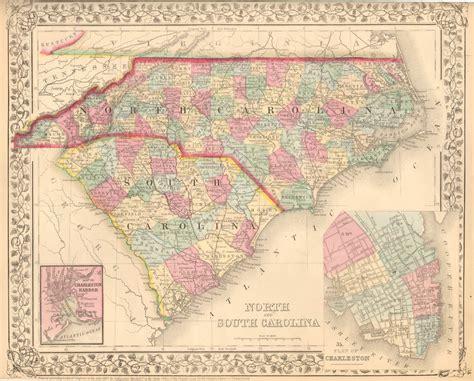 carolina south carolina map antique maps of south carolina