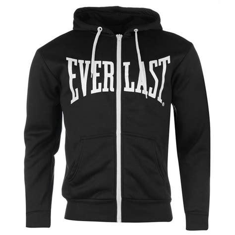 Hoodie Logo Everlast 1 everlast mens hoody zip hoodie sleeve hooded casual top ebay