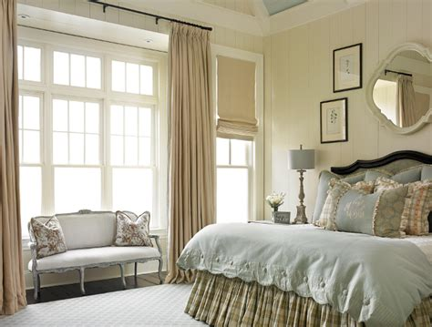 traditional master bedroom family home with timeless traditional interiors home