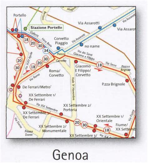map of genoa italy genoa transport map italy metro funicular lifts