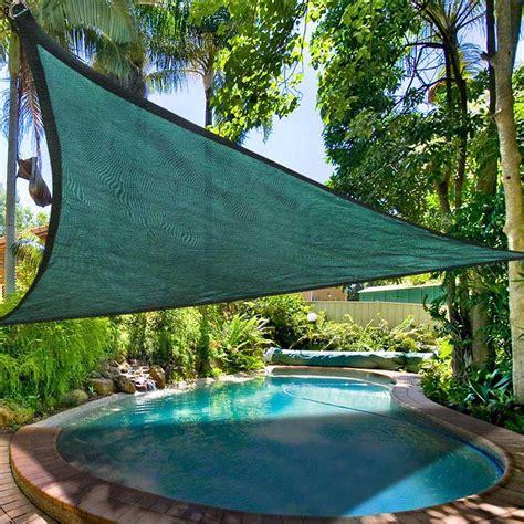 backyard sun shade sun shade sail outdoor top canopy patio uv block 11 5 16