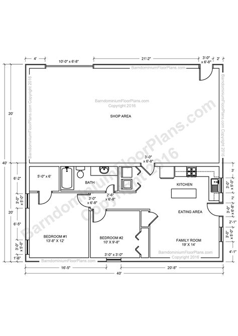 shop homes floor plans barndominium floor plans for planning your barndominium