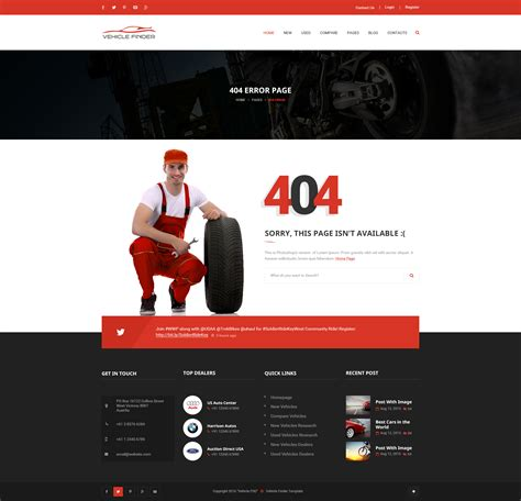 Drupal 404 Template by Fantastic Page Template Drupal Gallery Exle Resume