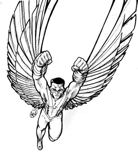 avengers coloring pages falcon 22 best lineart falcon images on pinterest stuart