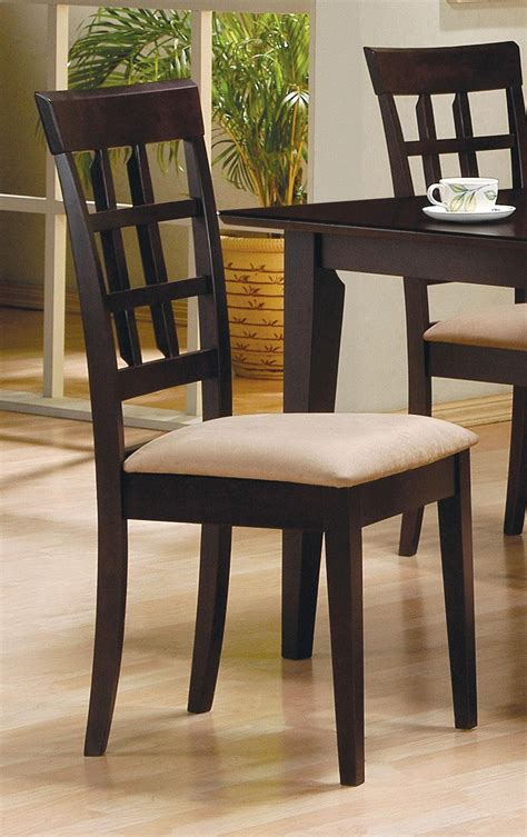 cappuccino dining room furniture mix match cappuccino oval dining room set from coaster