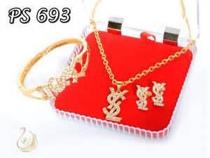 Set Perhiasan Xuping Set Chanel 65 grosir perhiasan set pusat perhiasan set