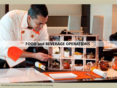 Mba In Food And Beverage Management by Food And Beverage Operation