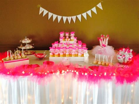 Tutu Themed Baby Shower Decorations by Tutu Themed Baby Shower Table Tutu Themed Baby