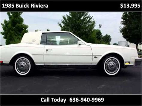 how does cars work 1985 buick riviera on board diagnostic system 1985 buick riviera available from fast lane classic cars youtube
