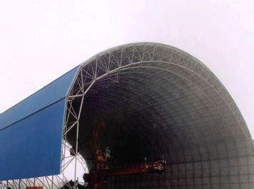 Henan Zhonglv Self Provided Power Station Dry Coal Storage