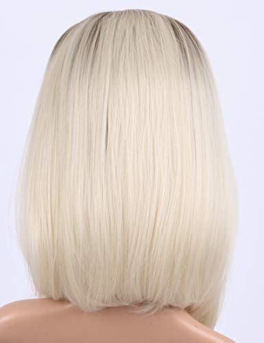 chantiche hot sale natural  platinum blonde short