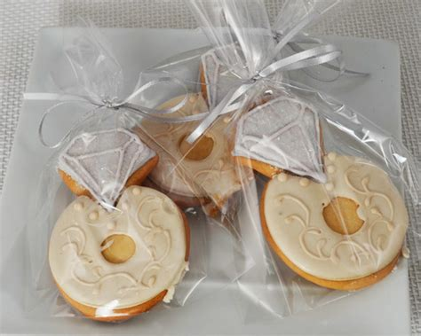 Wedding Ring Cookies by Wedding Ring Cookie My Wedding Favors