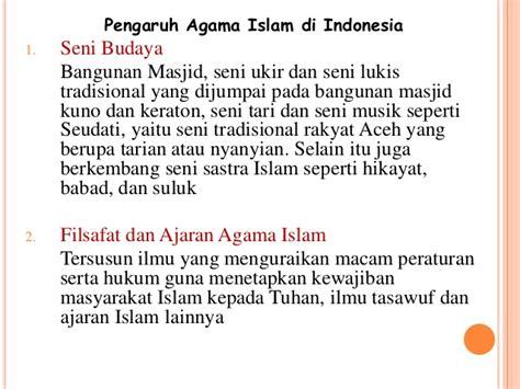 ajaran agama islam perkembangan dan masuknya agama islam di indonesia