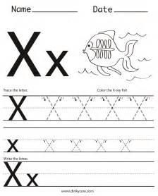 letter x worksheets humorholics
