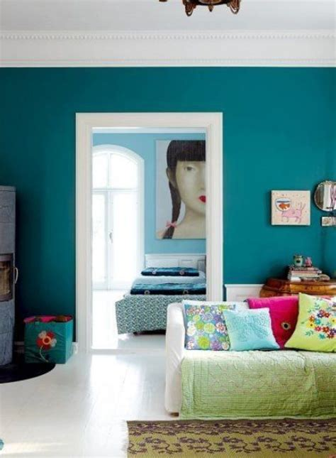 turquoise home decor ideas 36 cool turquoise home d 233 cor ideas digsdigs