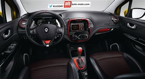 renault captur interior 2017 2016 renault captur r s likely to pack 200 hp rendering