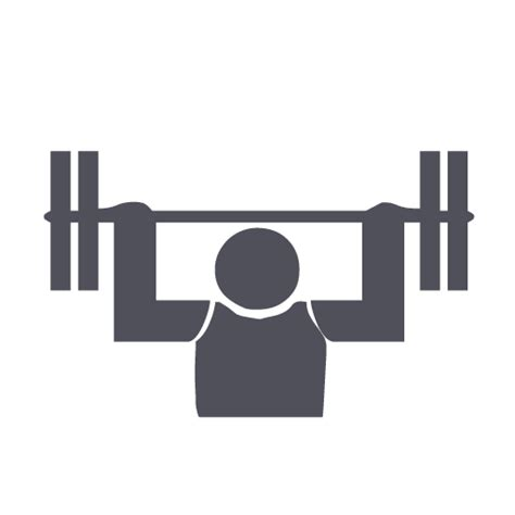 body building gym weight icon icon search engine