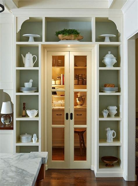 kitchen pantry doors ideas kitchen pantry ideas to create well managed kitchen at