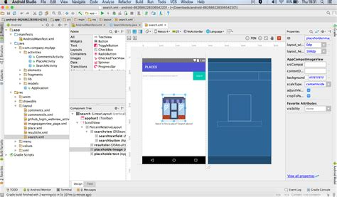 android studio layout manager editing an android project dropsource help center