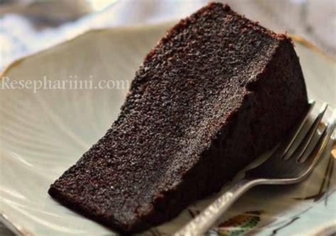 cara bikin brownies kukus rumahan cara membuat brownies kukus sederhana tanpa mixer modal