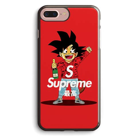 Casing Hardcase Hp Iphone 6 Plus Supreme X Black X4913 supreme feat goku apple iphone 7 plus cover isvh610 my phone goku and