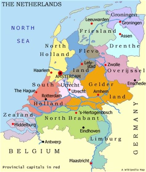 netherlands lakes map 17 best ideas about map of on