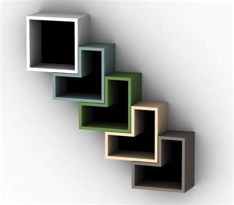 solovyoc designs pinta book shelves diagonal olpos design