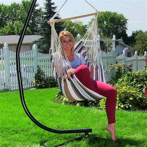 hanging swing chair outdoor hanging hammock chair swing for indoor outdoor use max