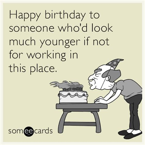 Funny Coworker Birthday Card Quotes