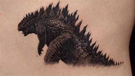 godzilla tattoos godzilla tattoos and the unsettling prospect of nuclear
