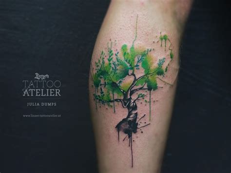 watercolor tree tattoo designs dumps