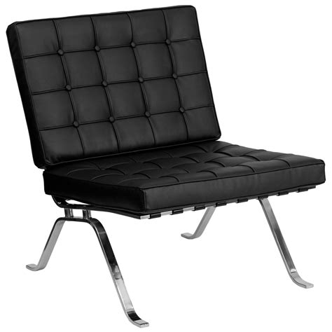 Black Leather Lounge Chair by Hercules Flash Series Black Leather Lounge Chair With