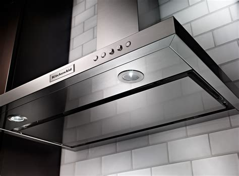 KitchenAid 36'' Canopy Range Hood   KVWB406DSS   The Brick