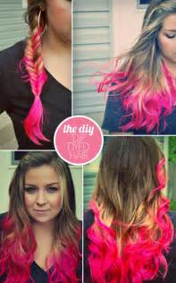 diy hair color the diy quot dip quot dyed hair updated hey wanderer